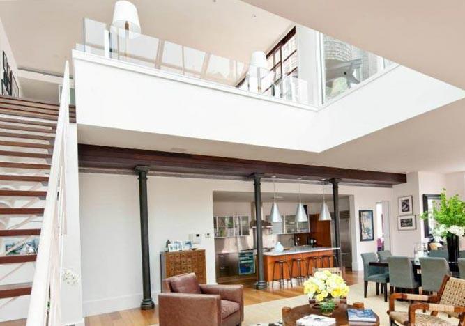 Лестницы в гостиной