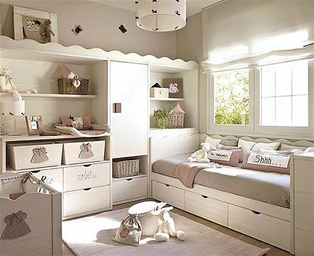 Зона хранения в детской