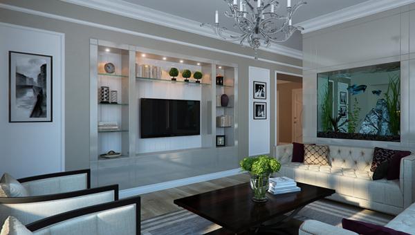 Мебель для гостиной (аквариум) – 1