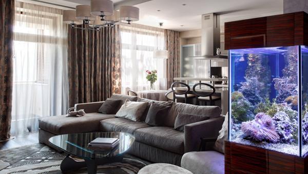 Мебель для гостиной (аквариум) – 2