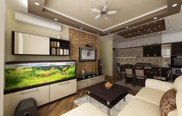 Мебель для гостиной (аквариум) – 3
