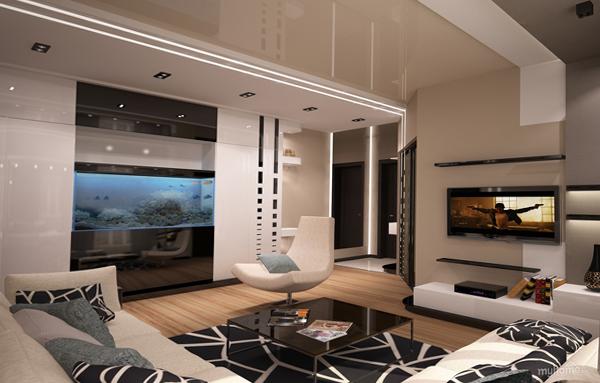 Мебель для гостиной (аквариум) – 5