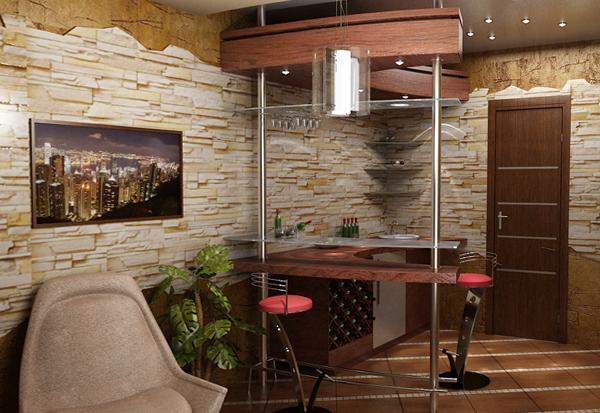 Мебель для гостиной (барная стойка) – 3