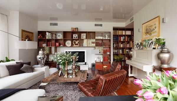 Мебель для гостиной (эклектический стиль) – 1
