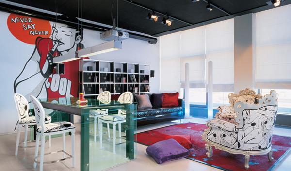 Мебель для гостиной (эклектический стиль) – 3