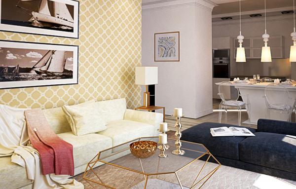 Мебель для гостиной (эклектический стиль) – 5