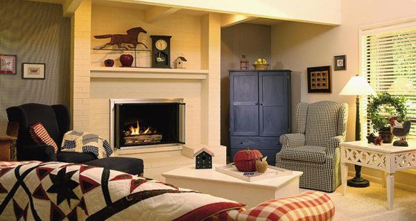 Мебель для гостиной (камин) – 5