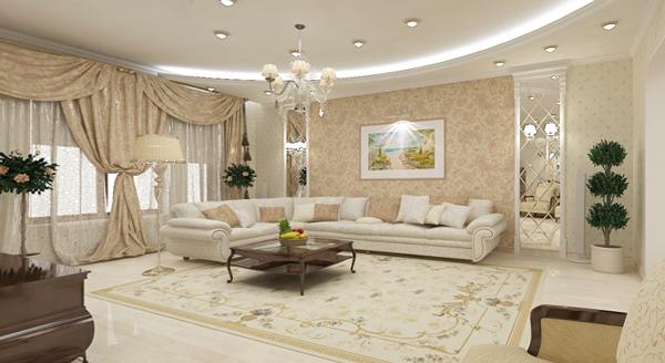 Мебель для гостиной (классический стиль) – 1