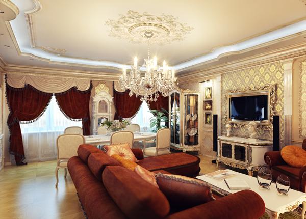 Мебель для гостиной (классический стиль)– 2