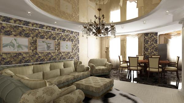 Мебель для гостиной (классический стиль) – 3