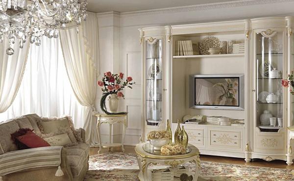 Мебель для гостиной (классический стиль) – 4