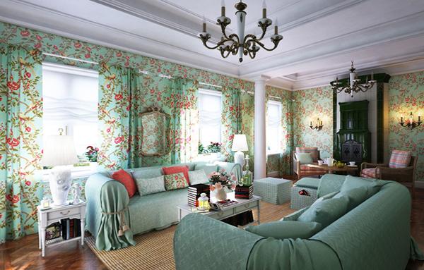 Мебель для гостиной (прованский стиль) – 1