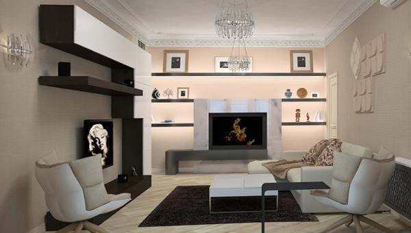 Мебель для гостиной (современный стиль) – 1
