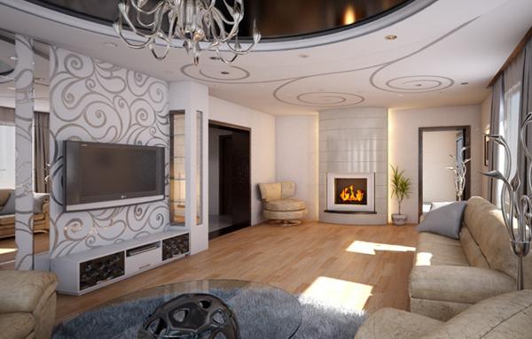 Мебель для гостиной (современный стиль)– 2