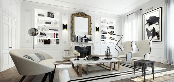 Мебель для гостиной (современный стиль) – 4