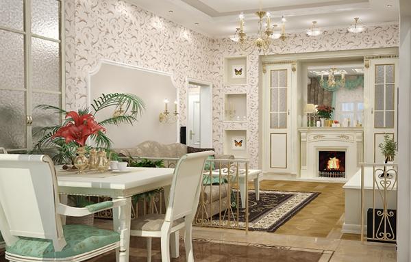 Мебель для гостиной (зонирование) – 3