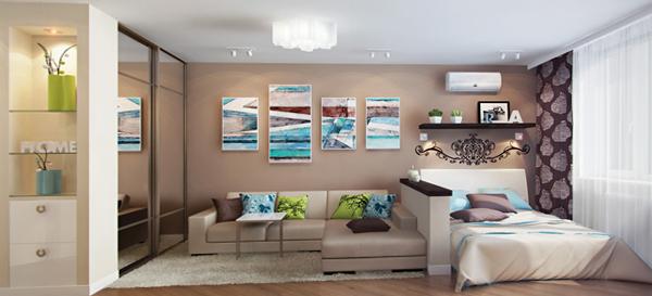 Мебель для гостиной (зонирование) – 4