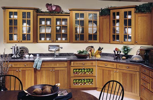 Мебель для кухни из дерева –2