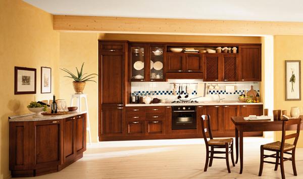 Мебель для кухни из дерева – 4