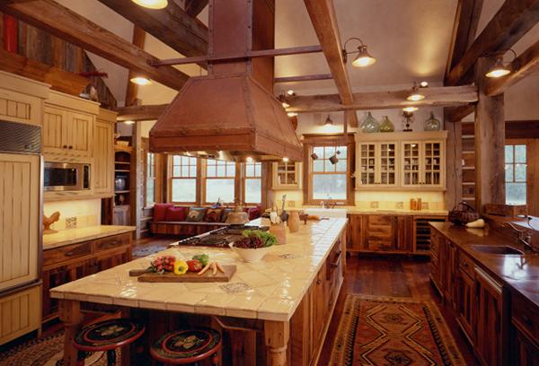 Мебель для кухни из дерева – 5