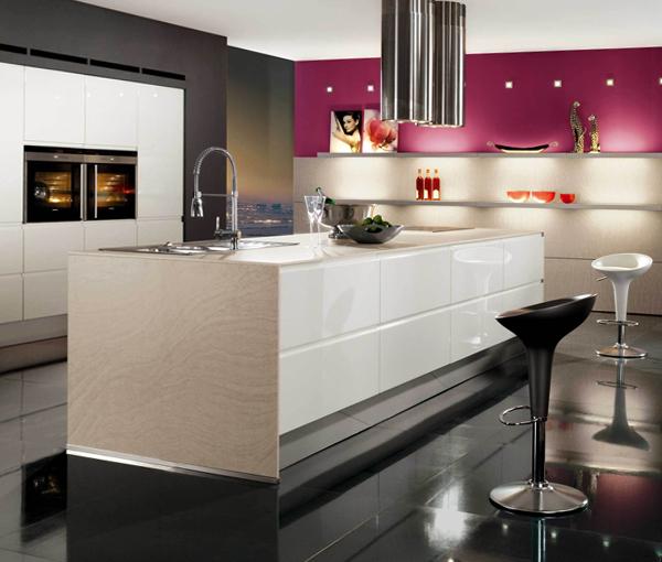 Кухня в стиле хай-тек – 1