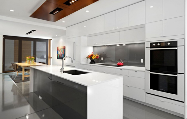 Кухня в стиле хай-тек -3