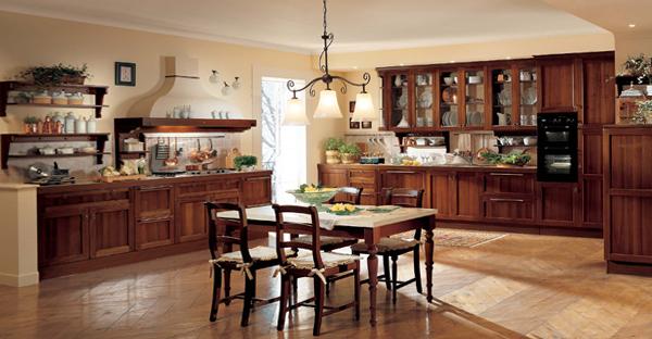 Кухня в классическом стиле – 1