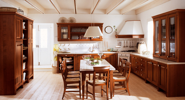 Кухня в классическом стиле -2