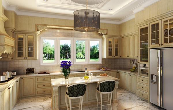 Кухня в классическом стиле -3