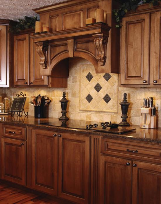 Кухня в классическом стиле -5