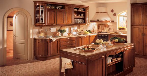 Кухня в классическом стиле -6