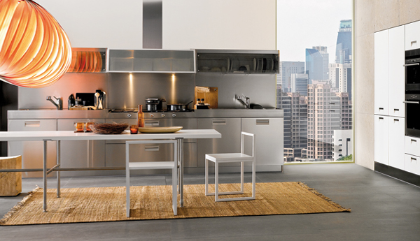 Мебель для кухни из металла – 1