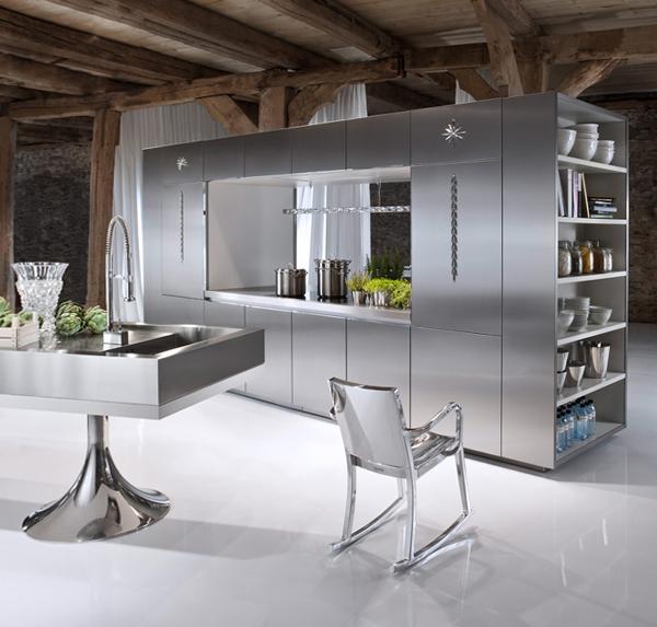 Мебель для кухни из металла –2