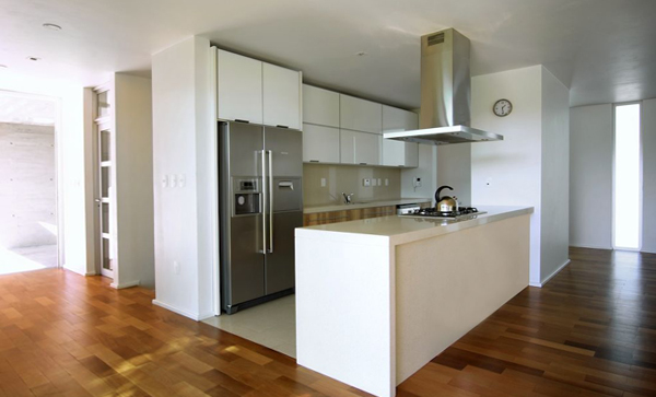 Кухня в стиле минимализм -2