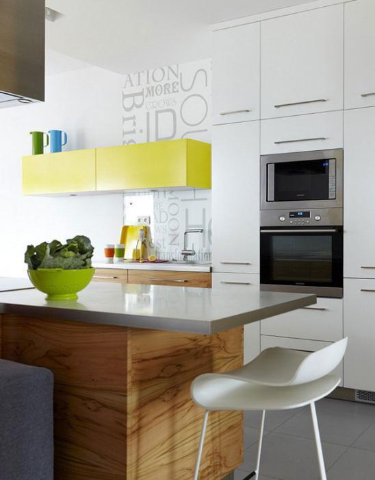 Мебель для кухни из пластика –2