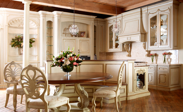 Кухня в стиле прованс -2