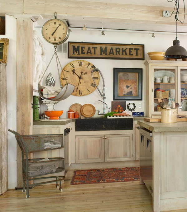 Кухня в стиле прованс -3
