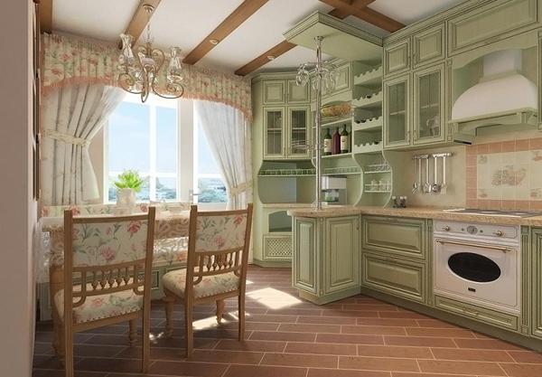 Кухня в прованскомстиле- 7