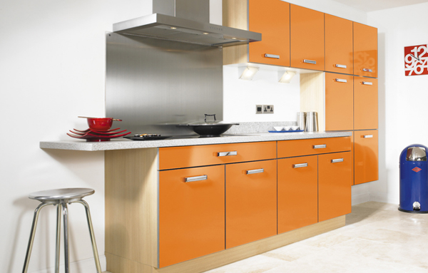 Кухня в желтых тонах-3