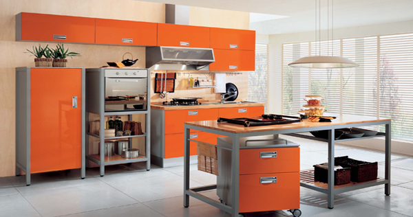 Кухня в желтых тонах- 4
