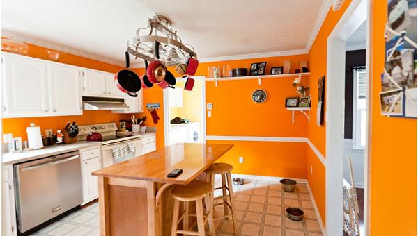 Кухня в желтых тонах - 7