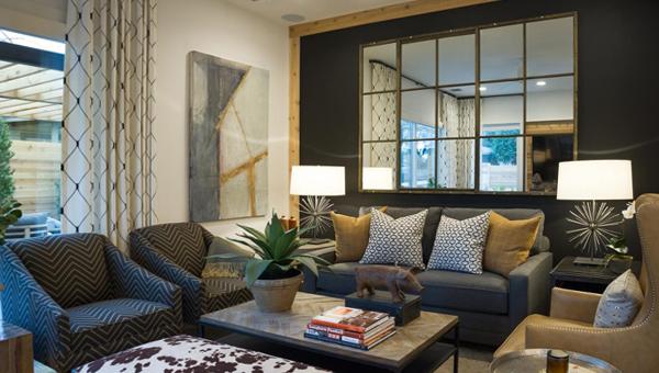 Гостиная в современном стиле (мебель) – 2