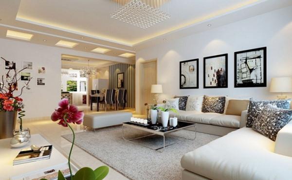 Гостиная в современном стиле (мебель) – 3