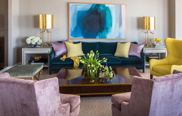 Гостиная в современном стиле (мебель) – 4