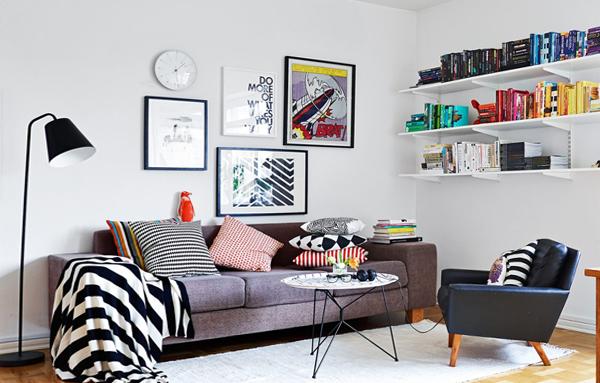Гостиная в современном стиле (мебель) - 5