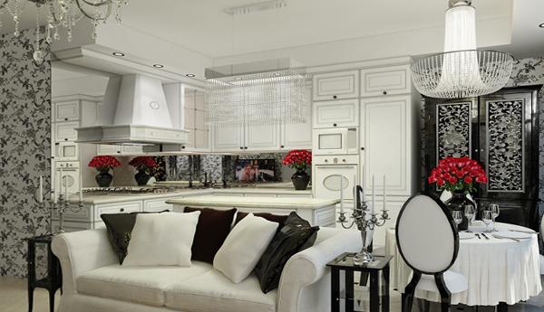 Мебель для гостиной в современном стиле (арт-деко) - 3