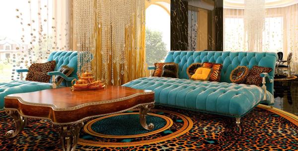 Мебель для гостиной в современном стиле (арт-деко) - 4