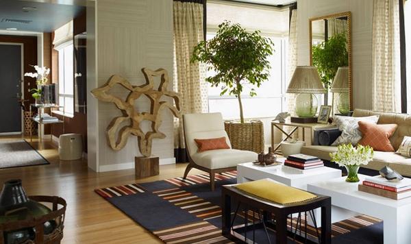 Мебель для гостиной в современном стиле (экостиль) – 1