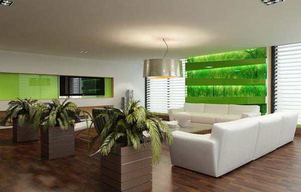Мебель для гостиной в современном стиле (экостиль) - 2
