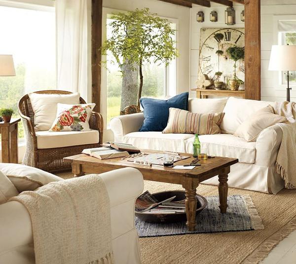 Мебель для гостиной в современном стиле (экостиль) – 5
